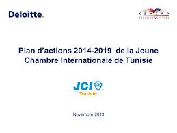 chambre internationale plan d actions de la chambre internationale de tunisie ppt