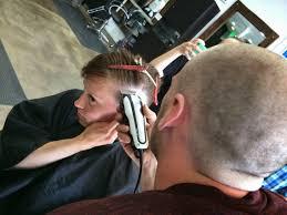 star fishing hair shaving party