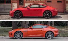 jaguar f type vs porsche 911 car reviews car specs car prices car images 2015 jaguar f type