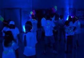 black light party ideas highlighter theme party blacklight party ideas photos