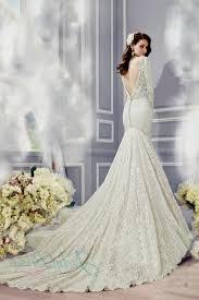 open back lace mermaid wedding dresses naf dresses