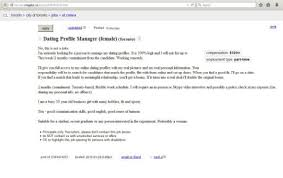 woman 30 hires dating profile manager from craigslist to help