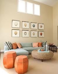 Orange Living Room Decor Home Design Ideas - Orange living room design