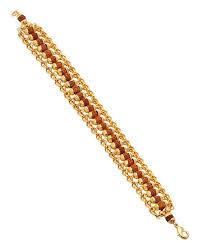 gold tone bracelet images Buy designer mens bracelets rudraksha gold tone bracelet online jpg