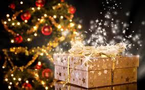 christmas tree magic day and magic gifts mac wallpaper download