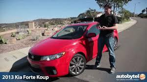 2013 kia forte koup sx test drive u0026 car video review youtube