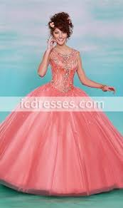 quinceanera dresses coral coral sweet 16 quinceanera dresses 2016 keyhole lace up back