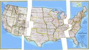 Us Timezone Map Interstate 10 Wikipedia United States Numbered Highway System