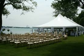 tent rental detroit weddings wahl tent rental