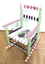 hand painted rocking chair hand painted kids furniture rocking chair custom hand painted furniture made furniture