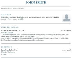 Free Easy Resume Templates Step By Step Resume Builder For Free Resume Template And