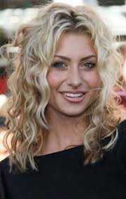 hairstyles with perms for middle length hair medium curly hair styles