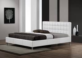 lit de chambre lit adulte design coloris blanc maxence lit chevet of chambre a