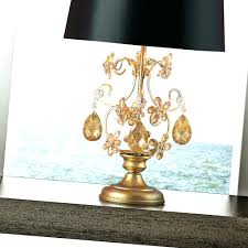 table lamps black and gold drum lamp shade black silk and gold