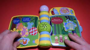 night garden sing u0026 slide nursery book vtech electronic