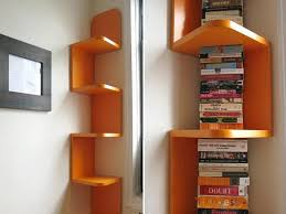 Book Shelf Suvidha Innovation Corner Shelves For Living Room Home Design