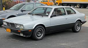 File 1985 Maserati Biturbo E Front Left Us Jpg Wikimedia Commons