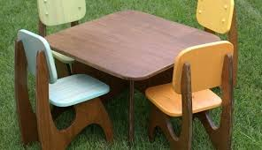 childrens wooden table and chairs melamine top desk 2 chairs prd furniture in modern kids