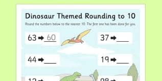 rounding numbers primary maths resources page 1