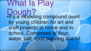 what is play dough it u0027s a modeling compound used by young