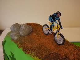 wonderful mountain bike cake decorations and delicious ideas of 15