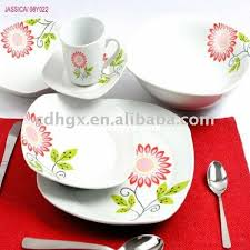 floral dinnerware sets soup plates kitchen series charming