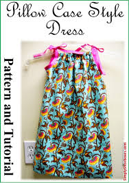 simply shoeboxes pillow case style dress instructions how to