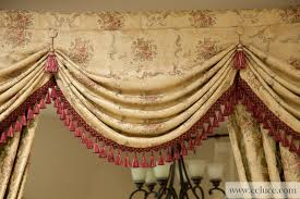 How To Make Curtain Swags Versailles Rose Premium Designer Swag Valances Traditional
