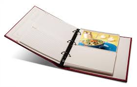 gallery leather photo album recipe open2 jpg