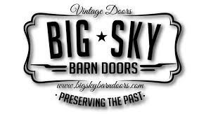 Red Barn Doors by Montana Red Sliding Barn Door U2014 Big Sky Barn Doors