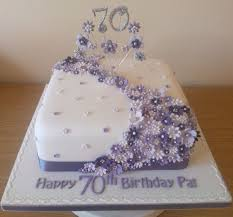 70th birthday cakes for search pinteres
