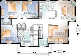 Simple Three Bedroom House Plan 3 Bedroom Bungalow House Plans In Kenya House Plans Pinterest