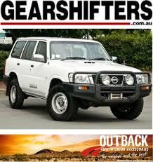 nissan patrol 1990 interior nissan patrol gu wagon 1997 on with rear air outback roller