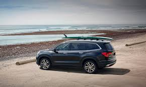 grey honda pilot beauty brawn and brains the 2016 honda pilot is the triple