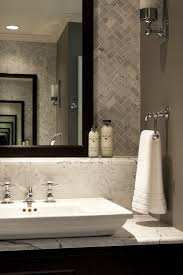 porcelanosa marmol carrara bathroom traditional with ledge