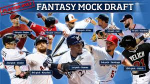 10 mlb players one fantasy mock draft mlb com