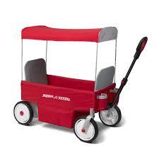 radio flyer power assist ewagon red toys
