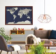 Pin World Map by Cotton Anniversary World Push Pin Map Multiple Color Options