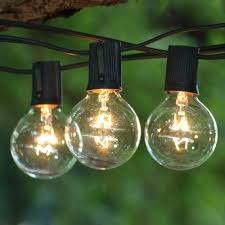 fashioned lights bulb string 20 led hollow bamboo weaving