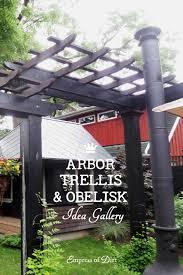 Building A Arbor Trellis 20 Arbor Trellis U0026 Obelisks Ideas Empress Of Dirt