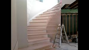 Radius Stairs by Custom Circle Stair W Bowed Treads Youtube