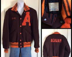 letter jacket etsy