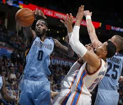 thunder journal westbrook sharper in second look at grizzlies