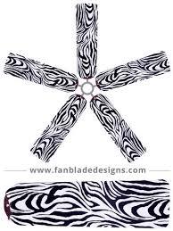 zebra print ceiling fan buy animal print ceiling fan covers fan blade designs