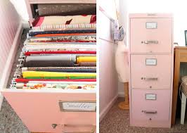 Pink Filing Cabinet Grosgrain Filing Cabinet Is The Place For Your Fabric Stash