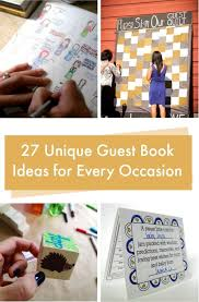 creative guest book ideas 27 guest book ideas c r a f t