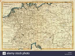 Germany Europe Map by Central Europe Germany Bohemia And Hungary 18th Century Map
