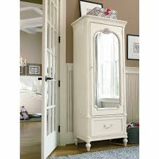 White Vintage Armoire Furniture Mirrored Armoire Wardrobe Wardrobe Armoire With