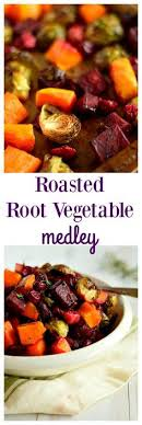 fancy shmancy herb roasted root vegetables roasted root