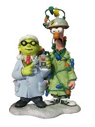 ornament beaker and dr bunsen honeydew muppets